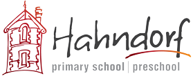 Hahndorf Primary School and Preschool Sticky Logo